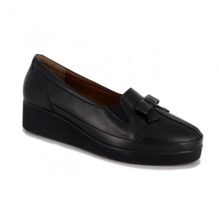 Pantofi Anna Viotti, model 1202, talpa cu perna de aer, culoare neagra