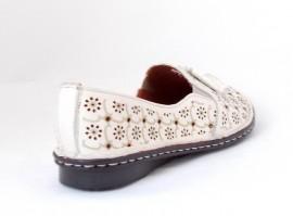 Pantofi Anna Viotti, model 34, culoare bej