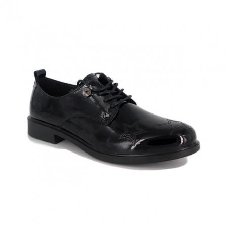 Pantofi Pass, model 238, culoare neagra