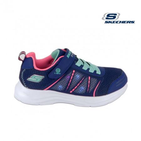 Pantofi Skechers, model Glimmer Kicks, talpa cu luminite