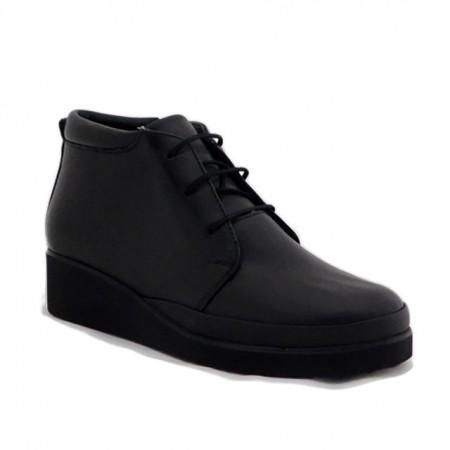Ghete Anna Viotti 1250, imblanite, talpa cu perna de aer, culoare neagra