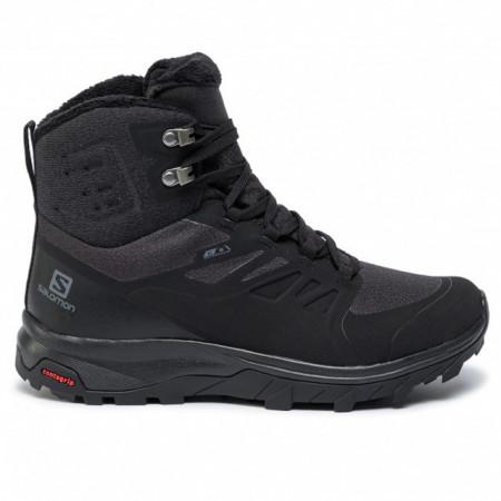 Ghete Salomon Outblast, pentru iarna, impermeabile, comfort termic pana la -7 grade,culoare neagra, serie mica