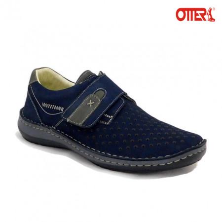 Pantofi Otter 9583, pentru vara, culoare albastra