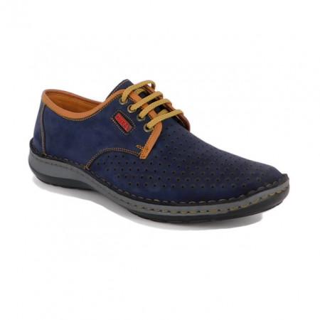 Pantofi Otter, model 9558, pentru vara, culoare albastra
