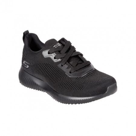 Pantofi Skechers Bobs Squad, talpa din spuma cu memorie, culoare neagra