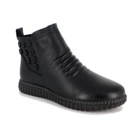 Ghete Pass, model 2238217, imblanite, culoare neagra