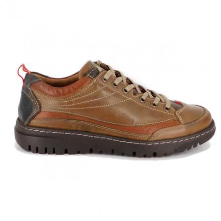 Pantofi G115, culoare maro