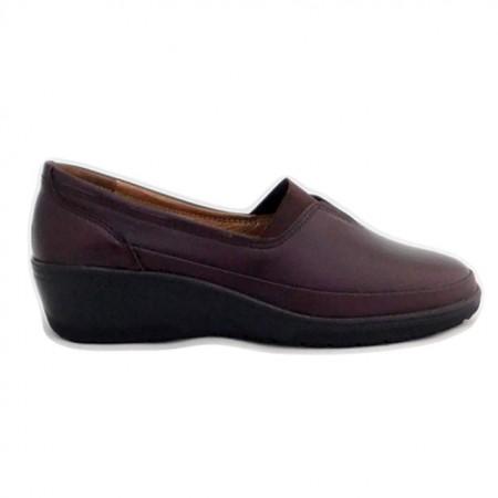 Pantofi G81, produsi in Romania, culoare grena