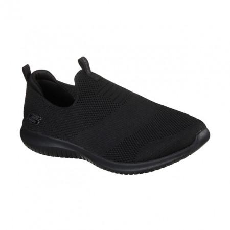 Pantofi Skechers Ultra Flex, talpa din spuma cu memorie, culoare neagra