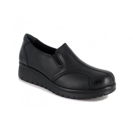 Pantofi Anna Viotti, model 5778, brant cu perna de aer, culoare neagra