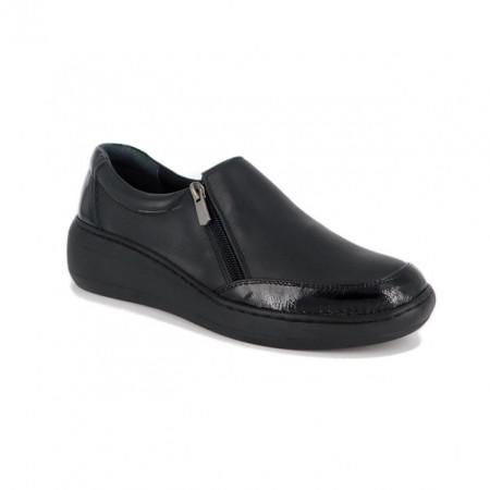 Pantofi Anna Viotti, model 632, culoare neagra
