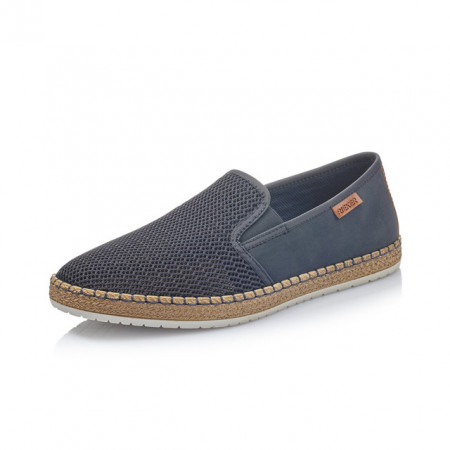 Pantofi Rieker, model B5265, pentru vara, culoare albastru inchis