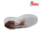 Pantofi Rieker 17325 , pentru vara, culoare gri