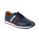 Pantofi Goretti, model 061, culoare albastra