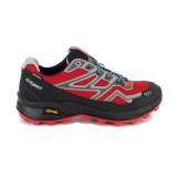 Pantofi Grisport 13151, impermeabili, talpa Vibram, culoare rosie