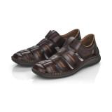Pantofi Rieker 05288 , pentru vara, culoare maro