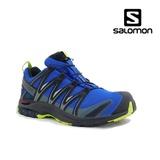 Pantofi Salomon XA Pro 3D, impermeabili,Gore-tex, culoare albastra