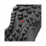 Pantofi Salomon Trailster 2, impermeabili, Gore-tex, culoare gri cu negru