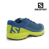 Pantofi Salomon XA Elevate, culoare albastra cu galben