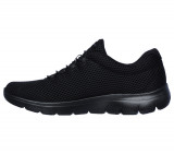 Pantofi Skechers Summits, talpa din spuma cu memorie, culoare neagra