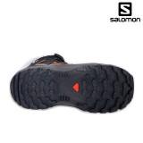 Ghete Salomon XA Pro 3D Winter, pentru iarna, impermeabile, culoare negru cu portocaliu