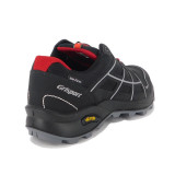 Pantofi Grisport 13115, impermeabili, talpa Vibram, culoare neagra