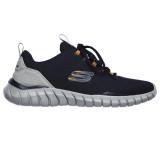 Pantofi Skechers Overhaul, talpa din spuma cu memorie, culoare albastra