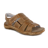 Sandale G810, culoare maro deschis