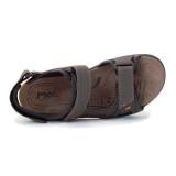 Sandale IMAC, model 104, talpa cu sistem anti-soc, culoare maro inchis