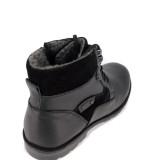 Ghete Otter, model 4210, blana naturala, culoare neagra