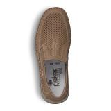 Pantofi Rieker 05277 , pentru vara, culoare bej inchis