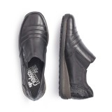 Pantofi Rieker 44254, impermeabili, culoare neagra