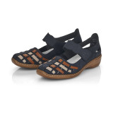 Pantofi Rieker, model 41369, culoare albastru inchis