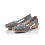 Pantofi Rieker, model 41396, culoare albastra