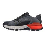 Pantofi Skechers Max Protect, talpa din spuma cu memorie, culoare gri