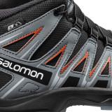Semighete Salomon XA Pro 3D Mid, impermeabile, culoare negru cu gri