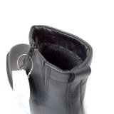 Cizme IMAC, model 1, impermeabile, imblanite, talpa anti-soc, culoare neagra