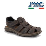 Sandale IMAC, model 1, talpa cu sistem anti-soc, culoare maro inchis