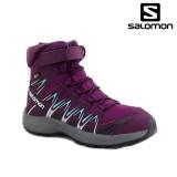 Ghete Salomon XA Pro 3D Winter, pentru iarna, impermeabile, culoare mov
