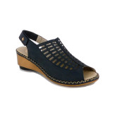 Sandale Rieker 66157, culoare albastru inchis