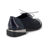 Pantofi C694, fabricati in Romania, culoare albastra