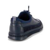 Pantofi Goretti, model 9165, culoare albastru inchis
