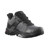 Pantofi Salomon X-Ultra 4, impermeabili,Gore-tex, culoare gri cu negru