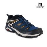 Pantofi Salomon X-Ultra 3, impermeabili,Gore-tex, culoare albastru inchis cu alb