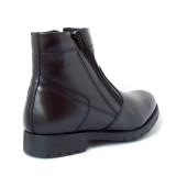 Cizme G9922, imblanite, culoare neagra