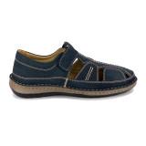 Pantofi Dr. Jells, model 9991, culoare albastra