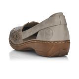 Pantofi Rieker, model 41356, culoare bej