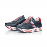 Pantofi sport Remonte, model D1305, culoare albastru inchis