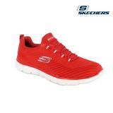 Pantofi Skechers Summits, talpa din spuma cu memorie, culoare rosie