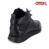 Ghete Otter, model QRB, imblanite, culoare neagra